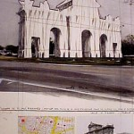 Puerta de Alcala, Wrapped, Project for Madrid