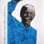 Mandela (Blue), 2013