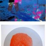 Moonwalk (Blue, with Circular Image on Reverse), 1987