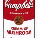 Campbell's Soup I: Cream of Mushroom, [II.53], 1968