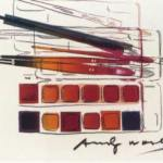 Watercolor Paint Kit with Brushes (II.288), 1982