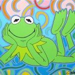 J.H. & K.F. (Julian Havard & Kermit the Frog), 2014