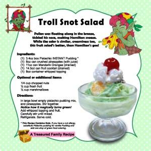 troll snot salad