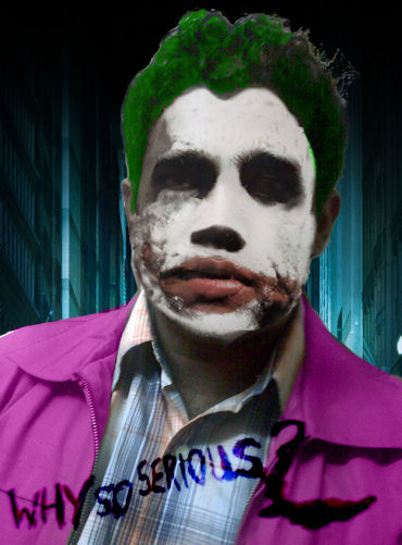 Hammy is the Joker?