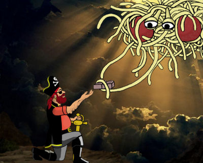 Or if you're cool enough, the Pastafarian God