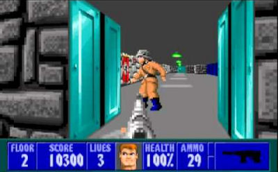 God mode in Wolfenstein 3D doesn't count. Obviously.