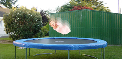 Thankfully, I was able to return the trampoline for store credit.