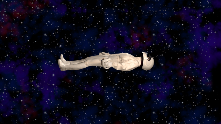 ophelia in space - side view