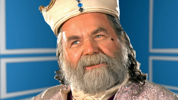 Robert Richard Jorge as King Claudius