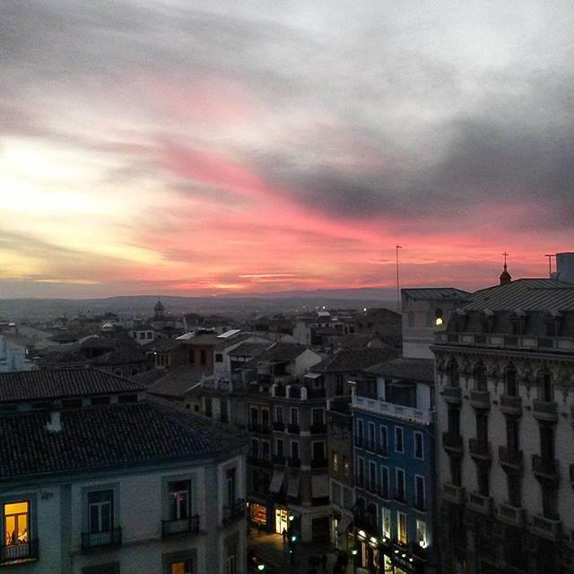 Las calles de Granada son poesía