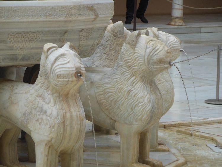 Leyenda del Patio de los Leones - Feliz Día del Libro