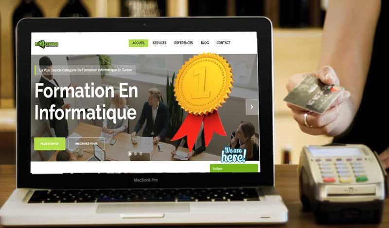 création site web pas cher Tunisie