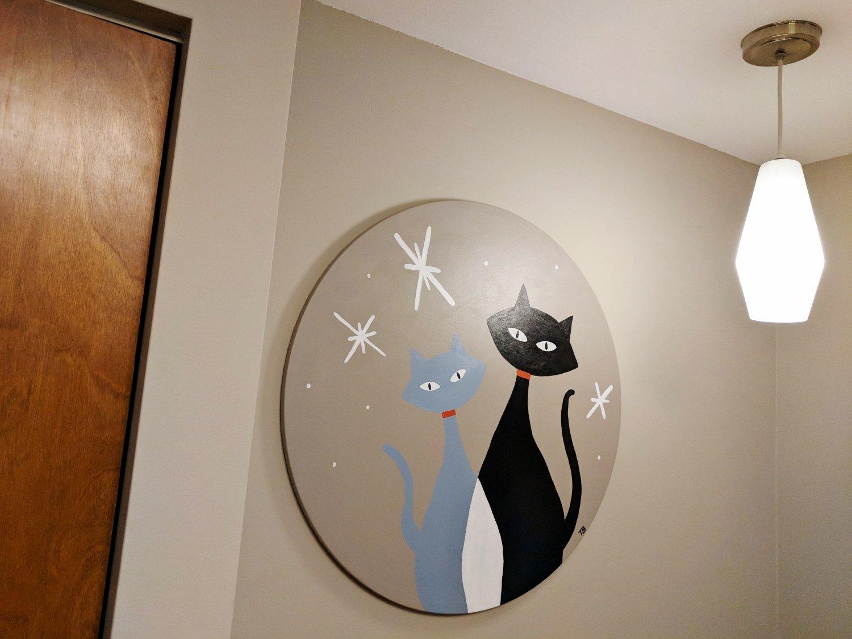 Mod Cat Painting Tutorial