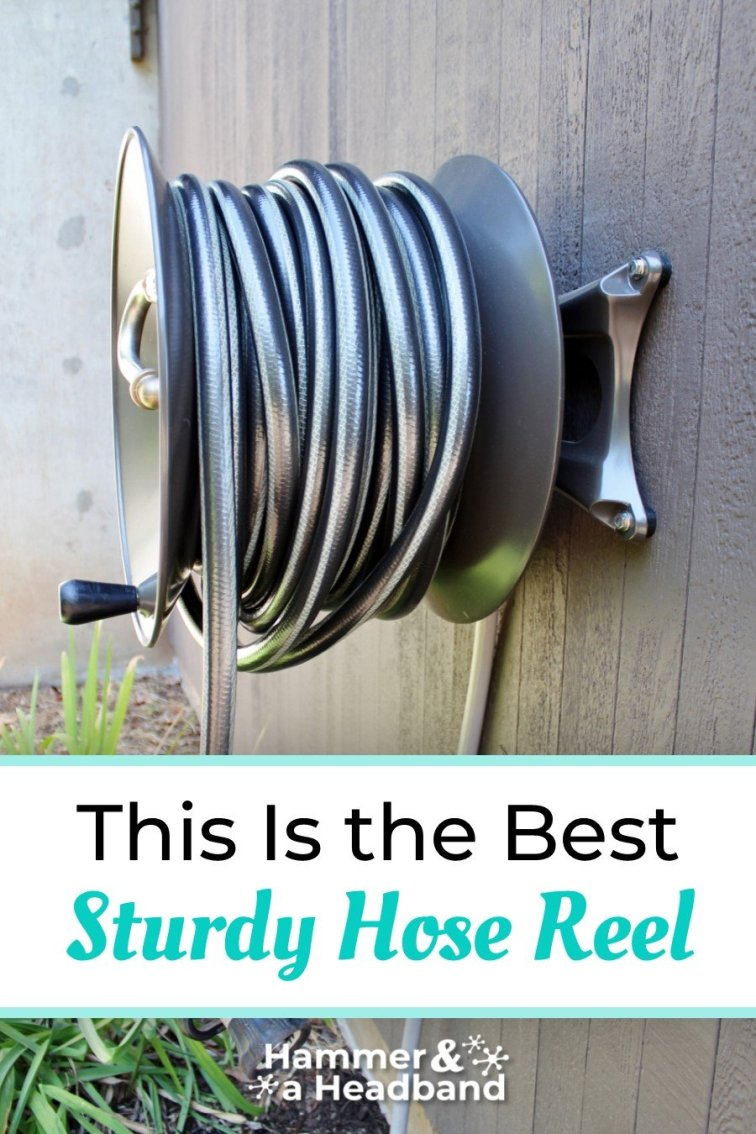 This is the best sturdy hose reel for your garden