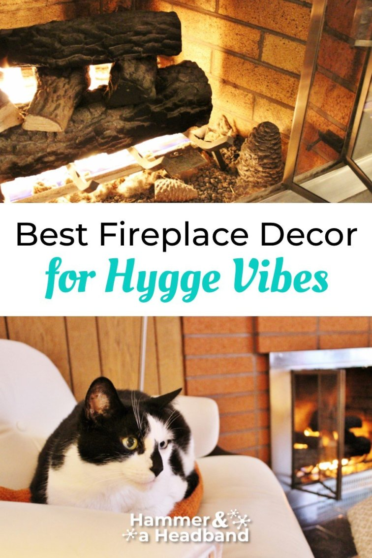 Best fireplace decor for cozy hygge vibes