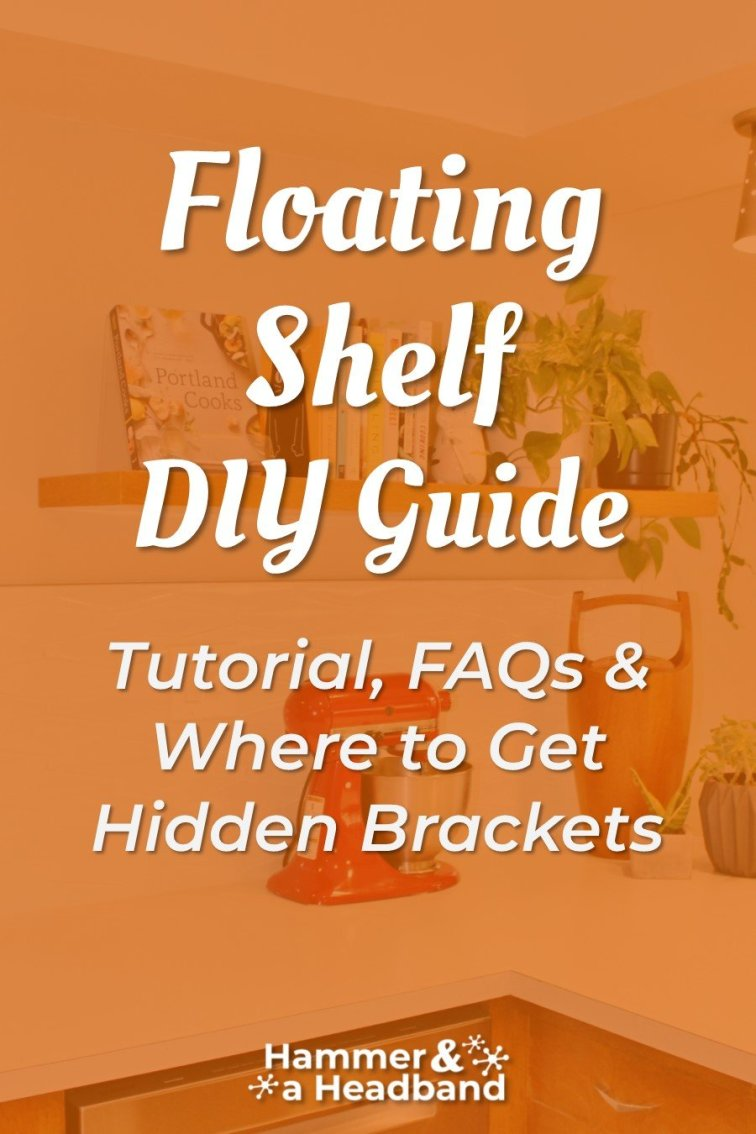 Floating shelf DIY guide