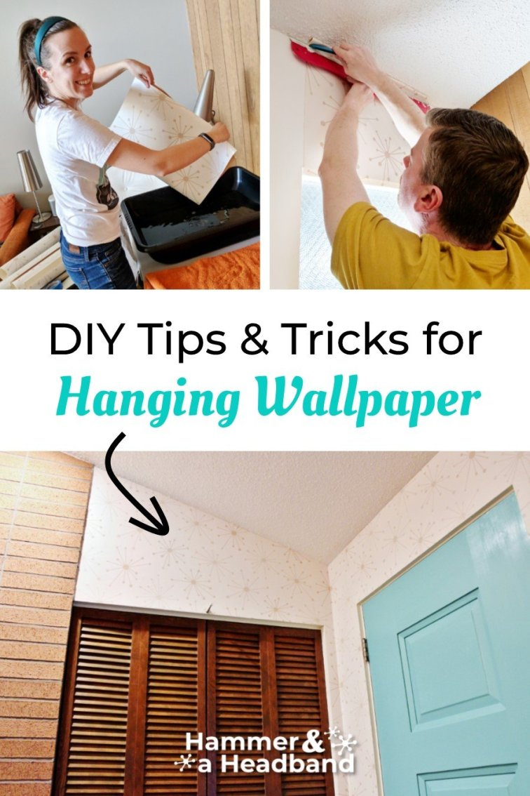 DIY tips and tricks for hanging wallpaper