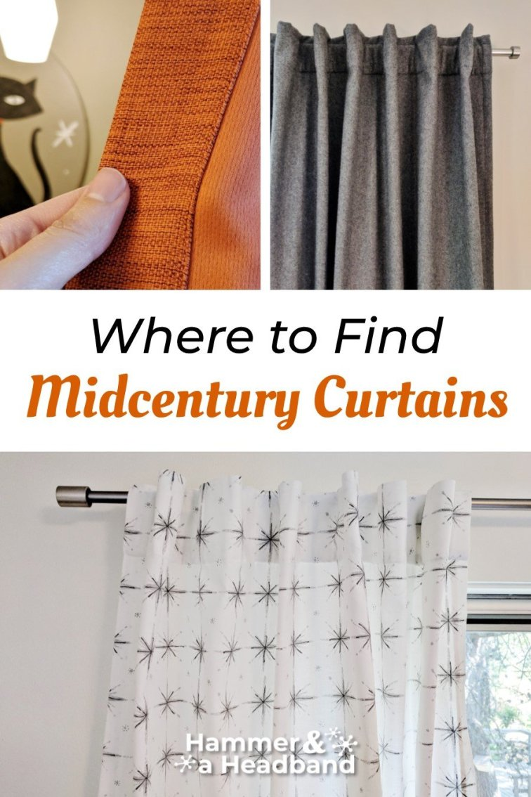 Where to find mid-century curtains