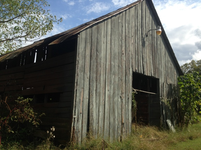 Prior to demo - early 1900's barn