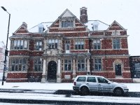 Bush theatre snow