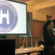 AGM19 - Cllr Harcourt describes Hammersmith Bridge problems