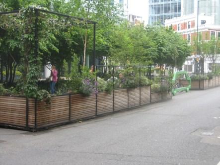 Hammersmith Grove Parklets - East