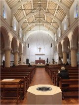 St. Augustine's interior - 2019 Tom Ryland Award for Conservation