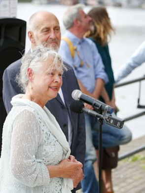 Laury Dizengremel at capability brown unveiling