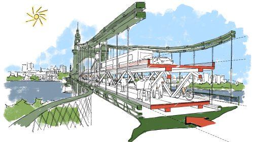 Foster & Partners bridge proposal