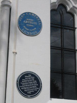 Mission Hall - plaques