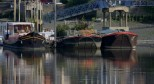 Houseboats, early morning, Dove Pier