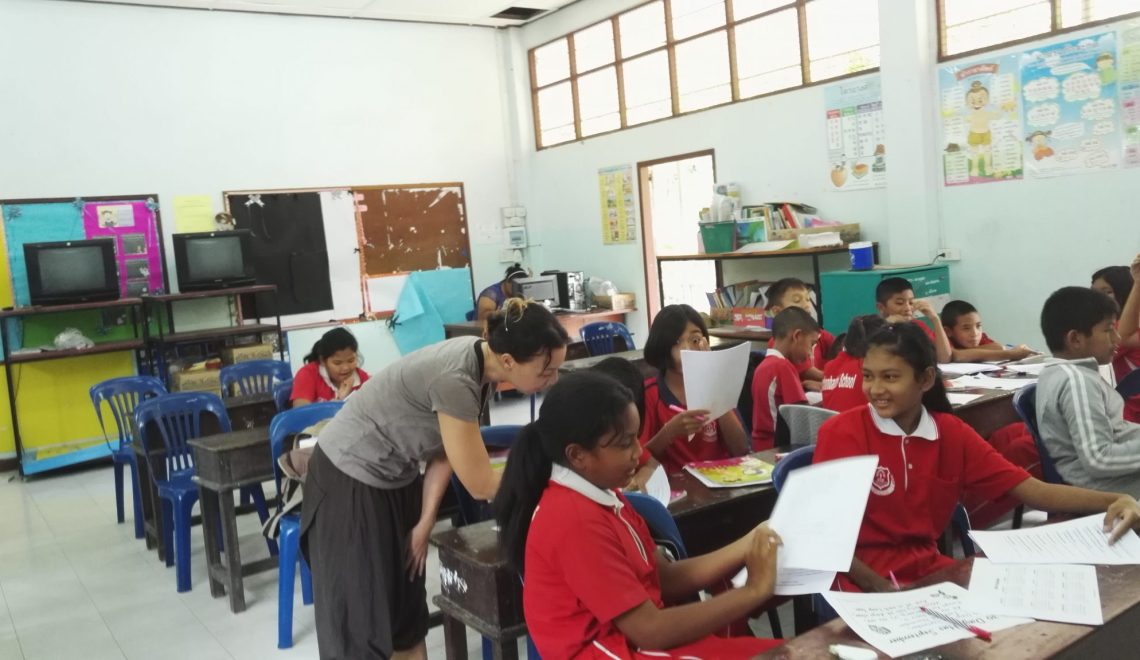 Practical part of my TEFL Thailand experience