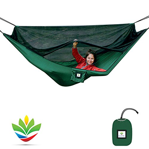 Medium image of hammock bliss no see um no more   the ultimate bug free camping hammock   100     250 cm rope per side included   fully reversible   ideal hammock tent for