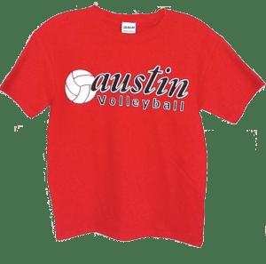 Screen Printed T-Shirt Austin High School