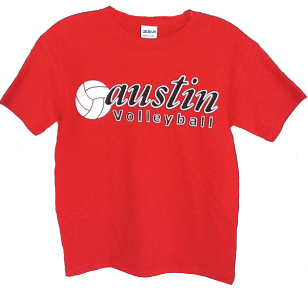 Screen Printed T-Shirt Austin High School
