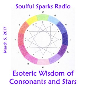 Consonants and Stars on Soulful Sparks Radio, Mar-5-2017