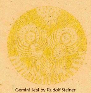 Gemini Seal by Rudolf Steiner