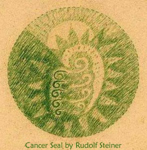Cancer Seal by Rudolf Steiner