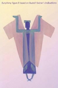 Eurythmy figure P, based on Rudolf Steiner's indications