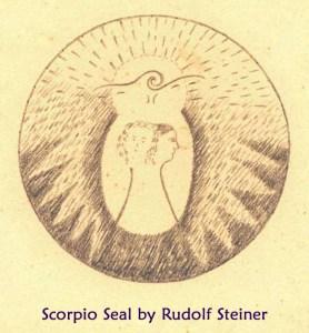 Scorpio Seal by Rudolf Steiner