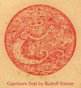 Capricorn Seal by Rudolf Steiner
