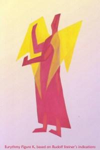 Eurythmy figure K, based on Rudolf Steiner's indications