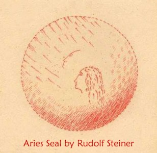 Aries Seal by Rudolf Steiner