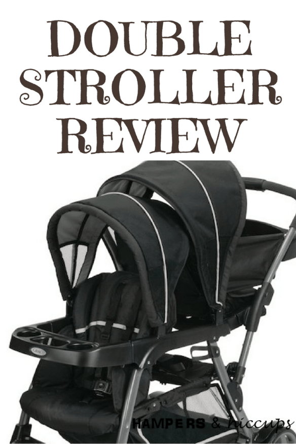 Graco Double Stroller Review Ready2Grow Click Connect System Black Hampersandhiccups
