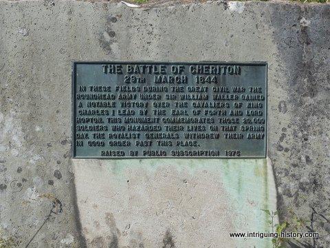 Civil War Memorial Cheriton