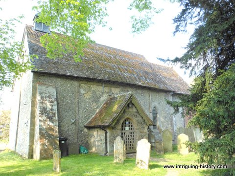 Corhampton church Hampshire