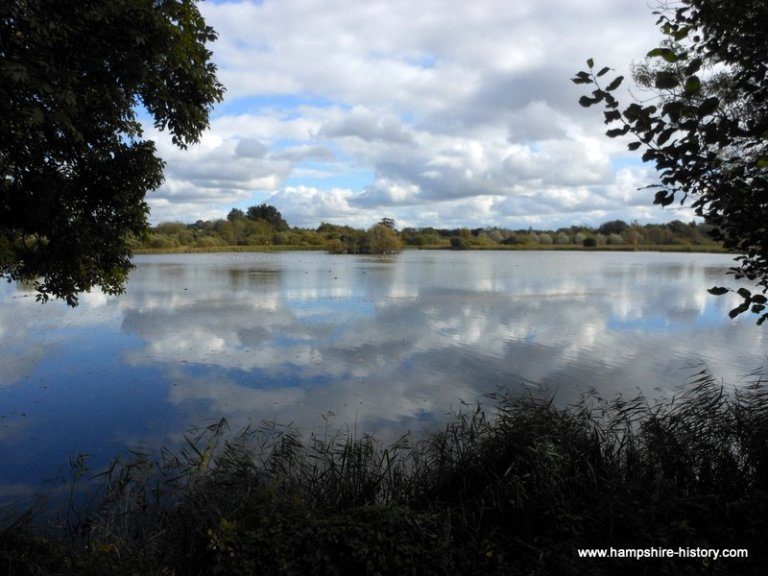 Alresford harbour resevoir Hampshire