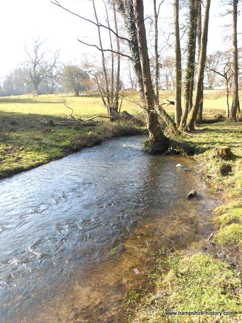 Bramshott Mills stream