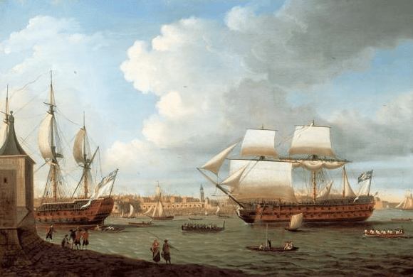 Portsmouth Harbour 1782