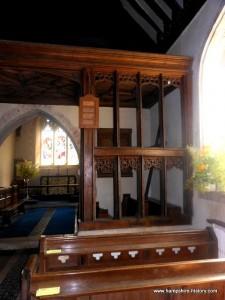 St Mary the Virgin Greywell rood-loft